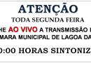 Reuniões da Câmara Municipal voltam a ser transmitidas