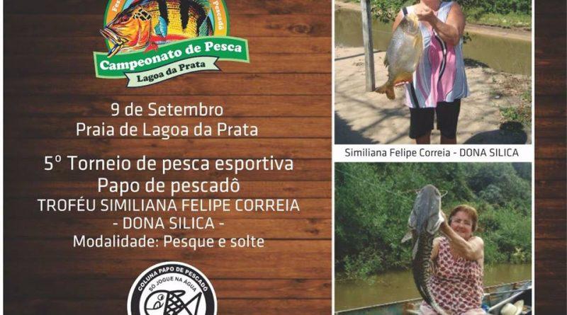 5º Torneio de Pesca Papo de Pescador