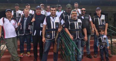 Clube de Tiro de Lagoa da Prata faz bonito em Santa Luzia