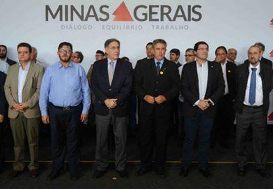 Governador entrega obra de Melhoramento e Restauração das Rodovias MG-176 e MG-429, Entre Luz e Lagoa da Prata