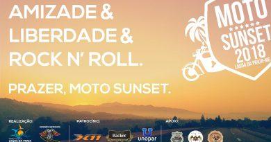 Moto Sunset 2018 em Lagoa da Prata
