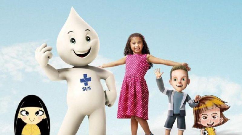 Campanha de Vacinação Contra a Paralisia Infantil e Sarampo