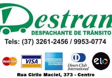 Despachante Destran passa a receber cartões de crédito