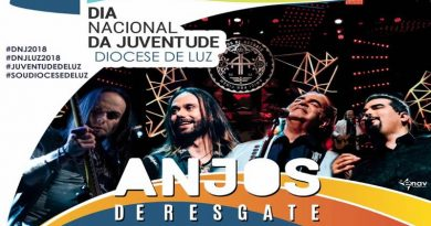 Anjos de Resgate fará Show em Luz no dia Nacional da Juventude
