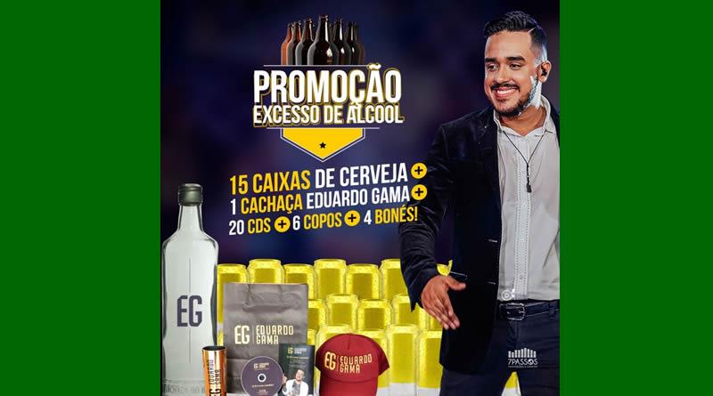 """Eduardo Gama lança promoção """"Excesso de Álcool"""" para o natal  dos seus fãs"""