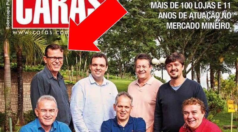 Tem Empresário de Lagoa da Prata na Capa da Revista Caras!