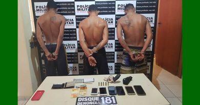 Prisão dos autores de roubo a agência dos Correios