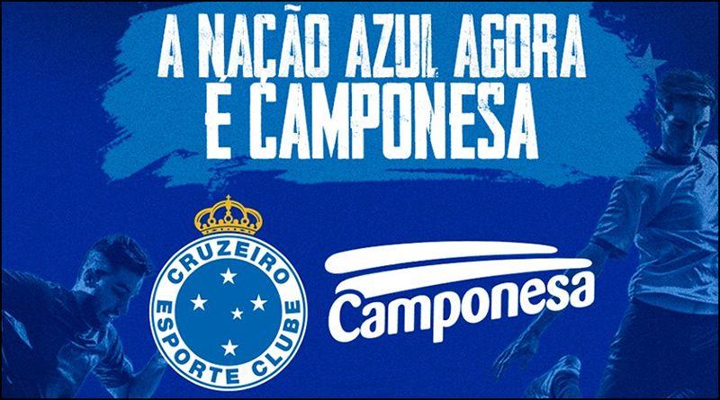 Camponesa é a nova patrocinadora do Cruzeiro