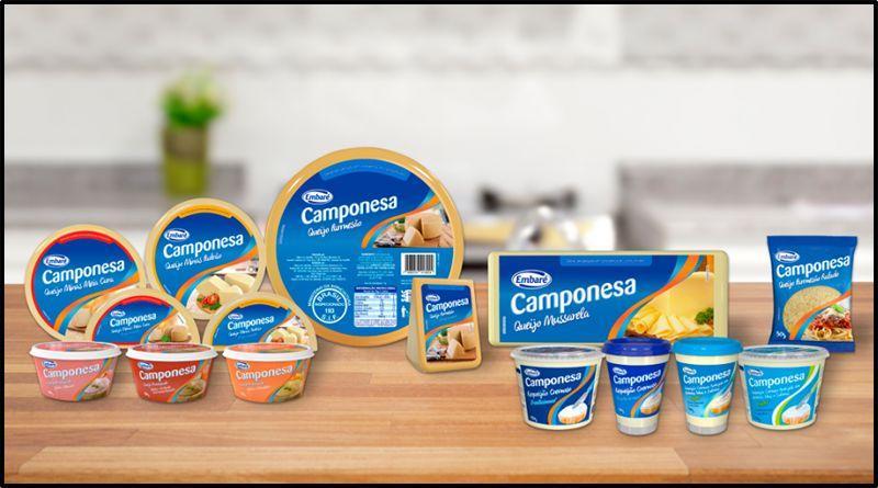 Embaré lança linha de queijos Camponesa