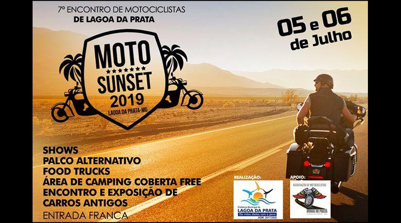 Vem ai o Moto Sunset 2019