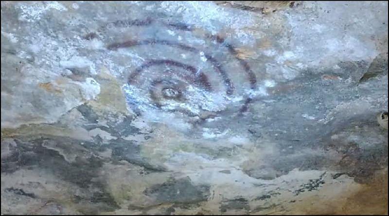 Pinturas Rupestres em Lagoa da Prata