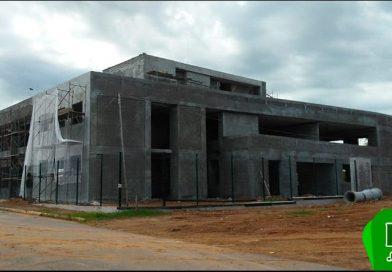 Obras do novo fórum se encontram em fase de acabamento