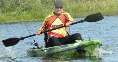 A primeira Caiacada Ecológica nas águas da Lagoa da Prata