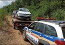 Policia Militar localiza veículo roubado