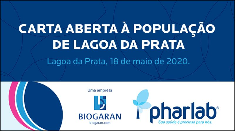 [Pharlab] Carta Aberta à População de Lagoa da Prata