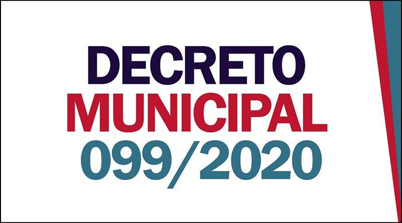 Decreto Municipal 099 de 19 de maio de 2020