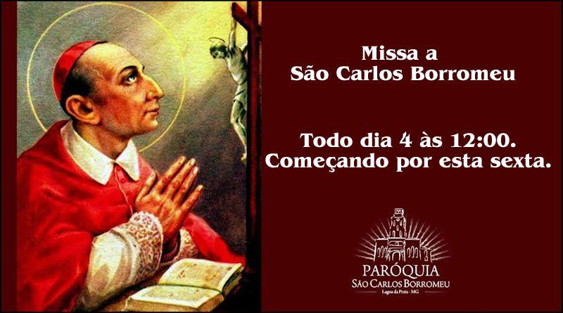 Oração de São Carlos Borromeu em tempo de pandemia