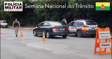 Polícia Militar realiza ações de prevenção a acidentes