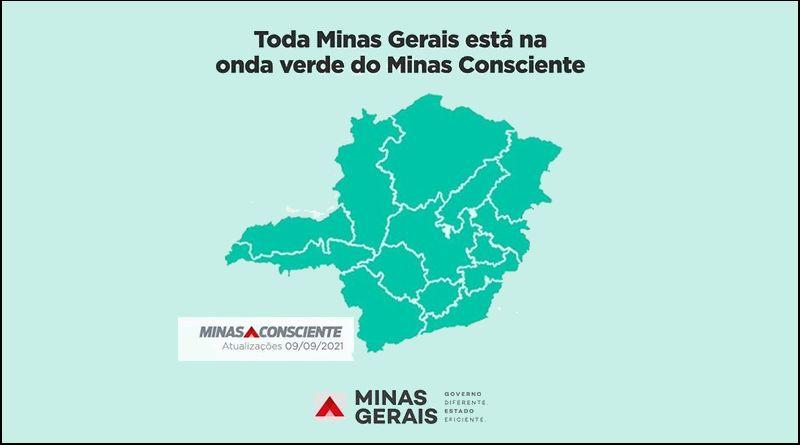 Todo estado está na Onda Verde do Minas Consciente